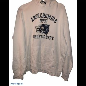 Abercrombie Fitch men's large heavy hoodie thick